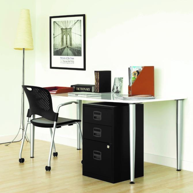 Arquivo escritorio 3 gavetas BISLEY PFA3 scaled