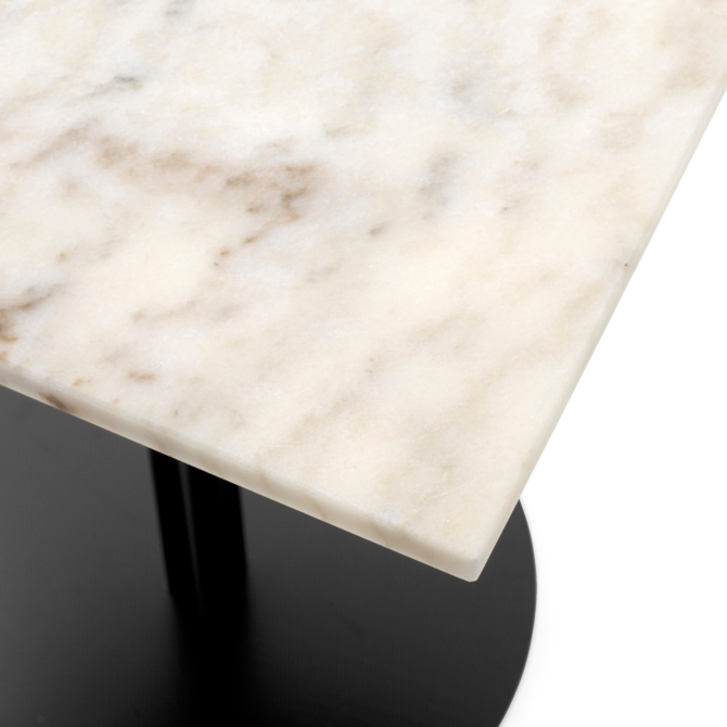 MENU HARBOUR COLUM DINING TABLE L7 Off Marble White detail scaled