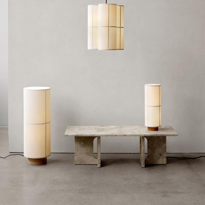 MENU Hashira Floor Lamp Hashira Table Lamp Hashira Pendant Cluster Androgyne Lounge Table